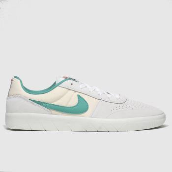 Nike SB Light Grey Team Classic Mens Trainers