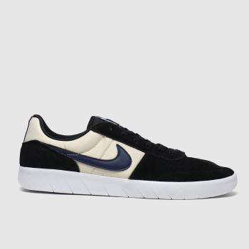 Nike SB Black & White Team Classic Mens Trainers
