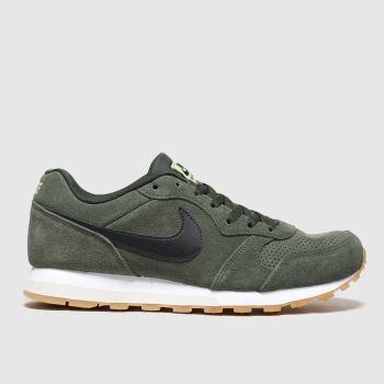 Nike Khaki Md Runner 2 Trainers