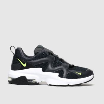 Nike Black & White Air Max Graviton Trainers