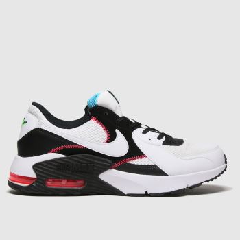 Nike White & Black Air Max Excee Mens Trainers