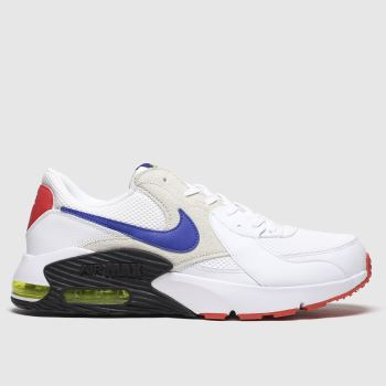Nike White & Navy Air Max Excee Trainers