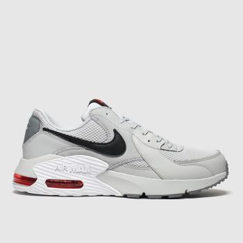 Nike Light Grey Air Max Excee c2namevalue::Mens Trainers