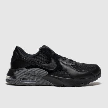 Nike Black Air Max Excee Mens Trainers#