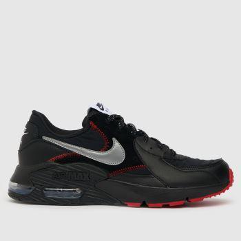 Nike Black & Grey Air Max Excee Mens Trainers