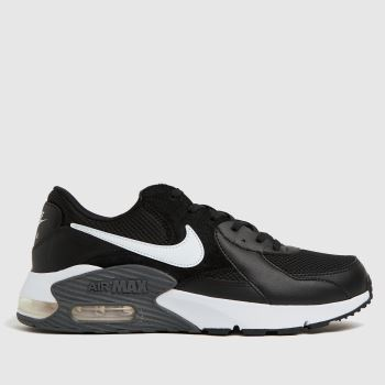 Nike Black & White Air Max Excee Mens Trainers