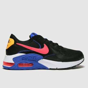 Nike Black & Red Air Max Excee Mens Trainers
