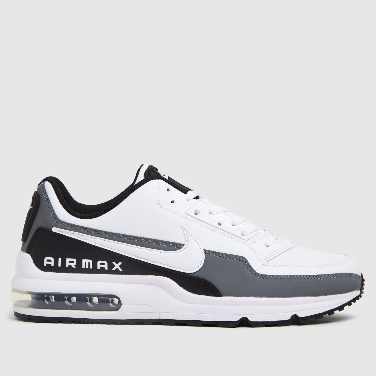 Nike White & Black Air Max Ltd 3 Trainers