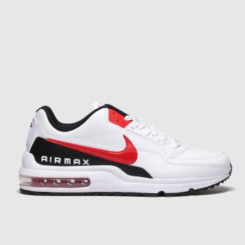 Nike White & Red Air Max Ltd 3 Mens Trainers#
