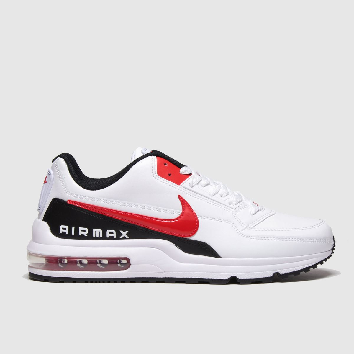Nike White & Red Air Max Ltd 3 Trainers