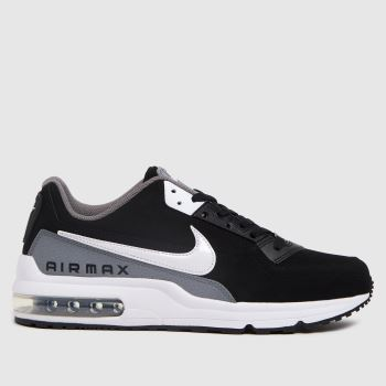 Nike Black & White Air Max Ltd 3 Mens Trainers