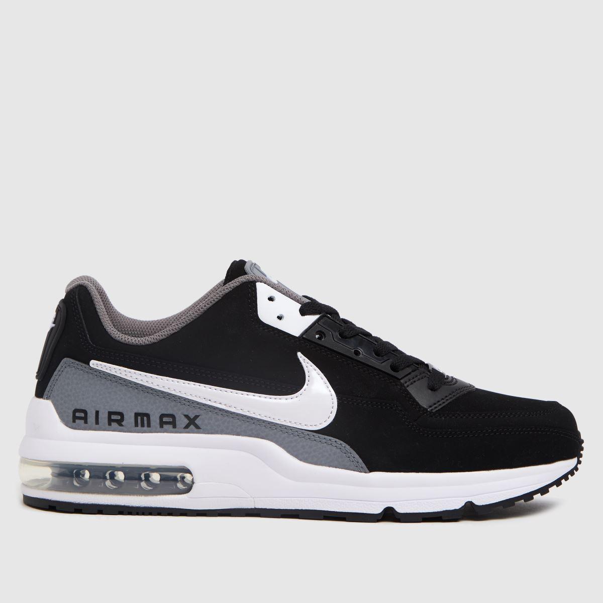 Nike Black & White Air Max Ltd 3 Trainers