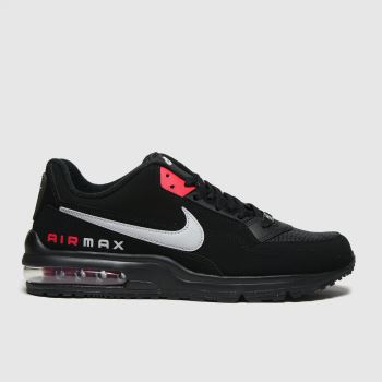 Nike Black & Red Air Max Ltd 3 Mens Trainers#