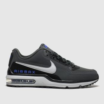 Nike Dark Grey Air Max Ltd 3 Mens Trainers#