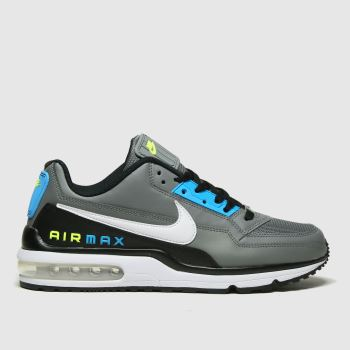 Nike Grey & Black Air Max Ltd 3 Trainers