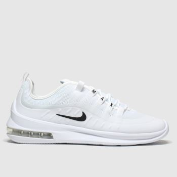 Nike White Air Max Axis Trainers