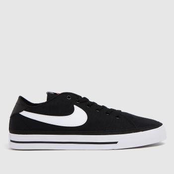 Nike Black & White Court Legacy Mens Trainers