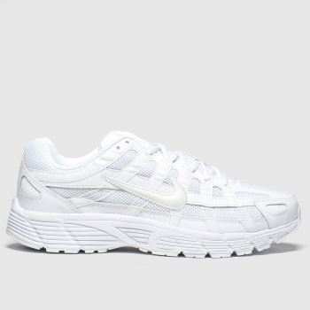 Nike White P-6000 c2namevalue::Mens Trainers