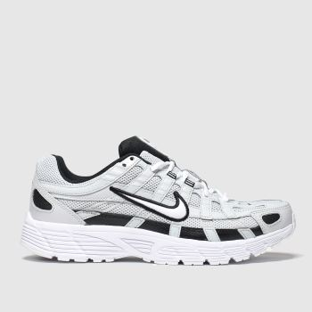 Nike Light Grey P-6000 Mens Trainers