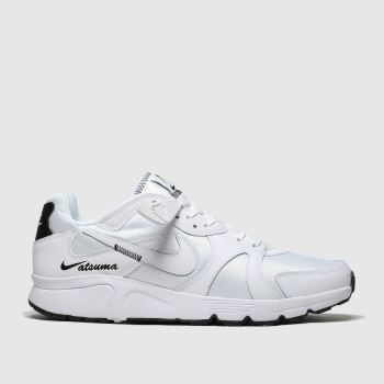 Nike White & Black Atsuma Mens Trainers