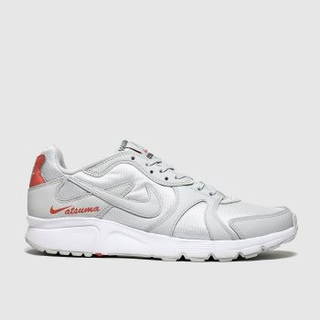 Nike Light Grey Atsuma c2namevalue::Mens Trainers
