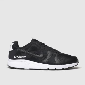 Nike Black & White Atsuma Mens Trainers
