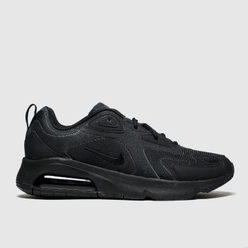 Nike Black Air Max 200 Mens Trainers