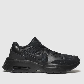 Nike Black Air Max Fusion c2namevalue::Mens Trainers