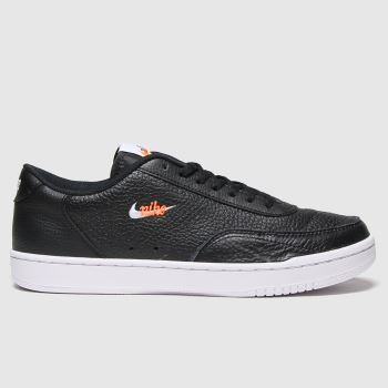 Nike Black Court Vintage Premium Mens Trainers#