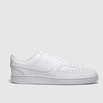 Nike White Court Vision Mens Trainers