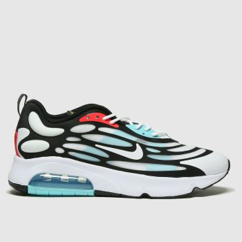 Nike White & Pl Blue Air Max Exosense Mens Trainers