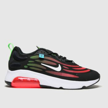 Nike Black & Red Air Max Exosense Mens Trainers