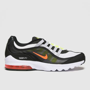 Nike White & Black Air Max Vg-r Mens Trainers#