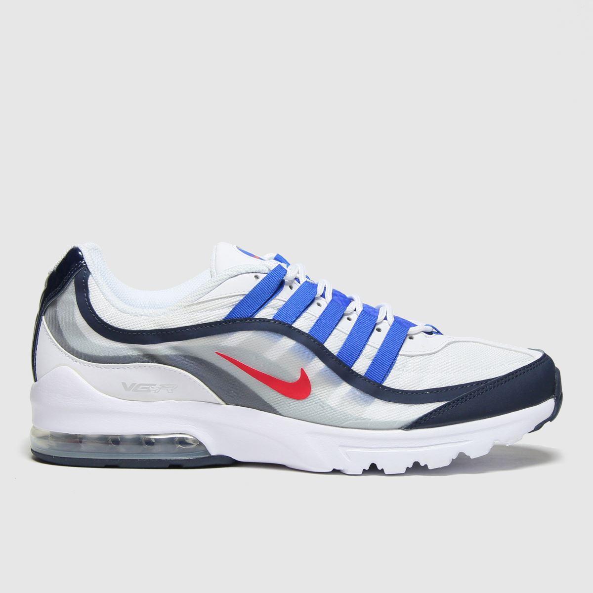 Nike White & Blue Air Max Vg-r Trainers