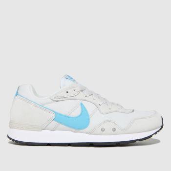 Nike White & Pl Blue Venture Runner Mens Trainers