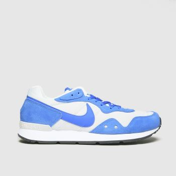 Nike White & Blue Venture Runner Mens Trainers