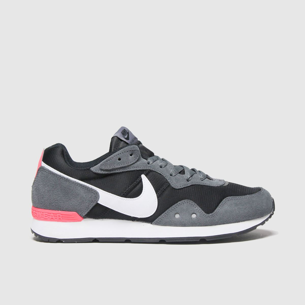 Nike Grey & Black Venture Runner Trainers