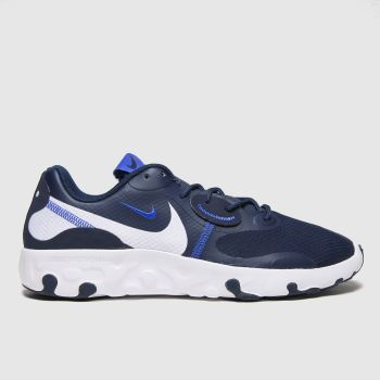Nike Navy & White Renew Lucent 2 Mens Trainers