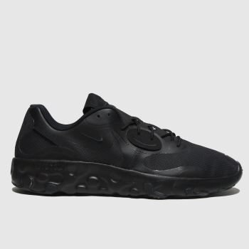 Nike Black Renew Lucent 2 Mens Trainers