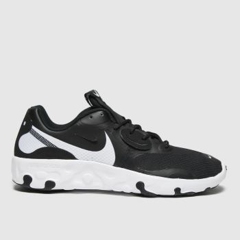 Nike Black & White Renew Lucent 2 Mens Trainers#