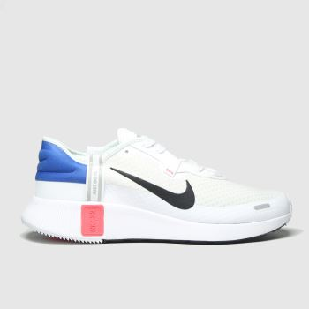 Nike White & Black Reposto Mens Trainers#