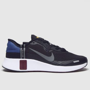 Nike Black & White Reposto Mens Trainers