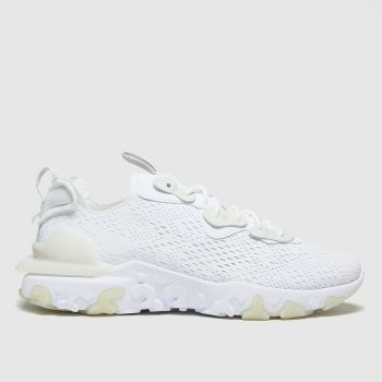 Nike White React Vision Mens Trainers