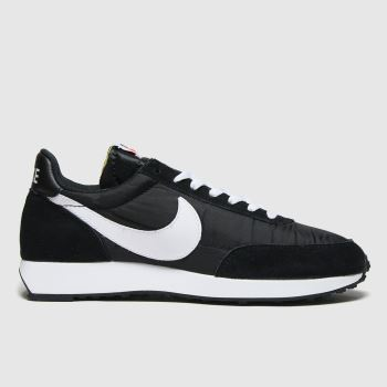 Nike Black & White Tailwind 79 Mens Trainers
