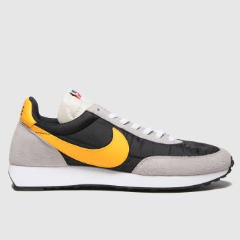 Nike Black & Orange Tailwind 79 Mens Trainers
