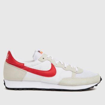 Nike White & Red Challenger Og Mens Trainers