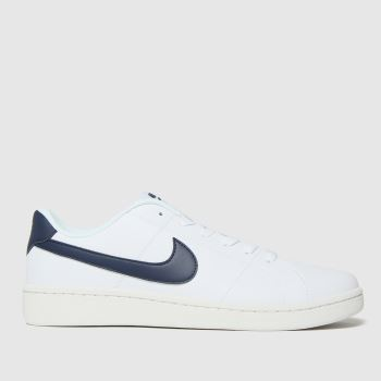 Nike White & Black Court Royale 2 Mens Trainers