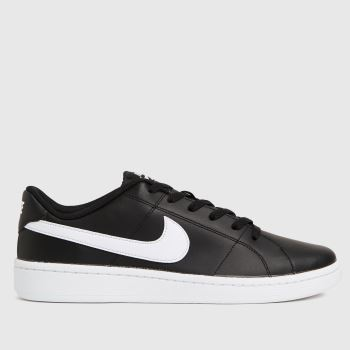 Nike Black & White Court Royale 2 Low Mens Trainers