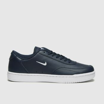 Nike Navy Court Vintage Mens Trainers#
