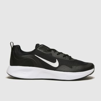 Nike Black & White Wearallday Mens Trainers